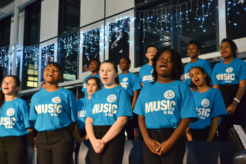 WnterFest choir