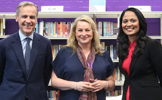 Mark Carney, Ruth Holden, Rushanara Ali